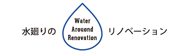 水廻りのリノベーション